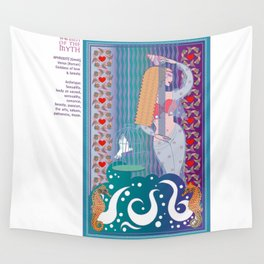 Women of the Myth Series: Aphrodite-Venus Wall Tapestry