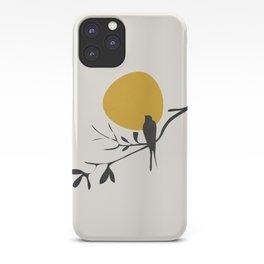 Bird and the Setting Sun iPhone Case