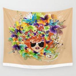 Frühlingserwachen Wall Tapestry