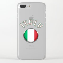 Italy Clear iPhone Case