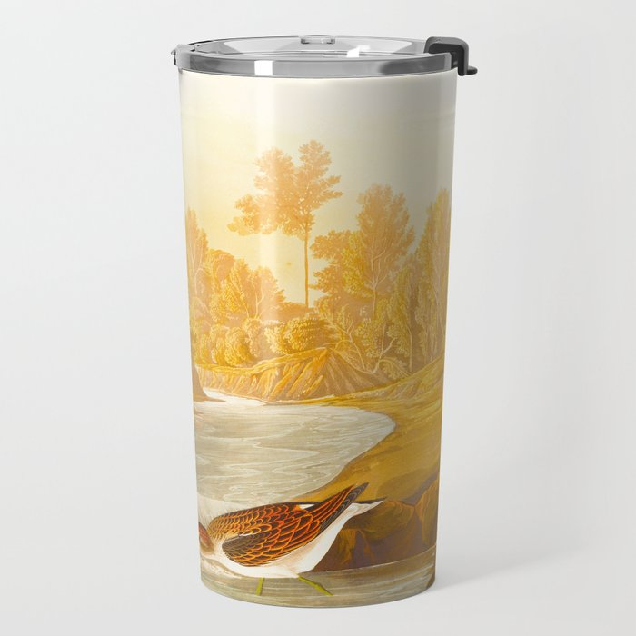 Little Sandpiper Bird Travel Mug