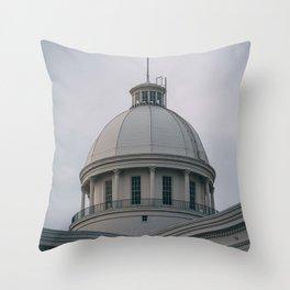 Alabama State Capitol 04 Throw Pillow