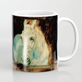 "Henri de Toulouse-Lautrec ""The White Horse Gazelle"" Coffee Mug"