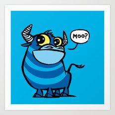 MooBlu Art Print