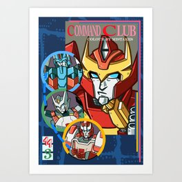 Lost Light Command Mistakes Art Print