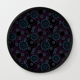 art of batik two Wall Clock