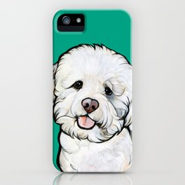 Gracie the Bichon iPhone Case