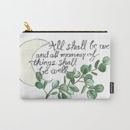 All Shall Be Well Carry-All Pouch