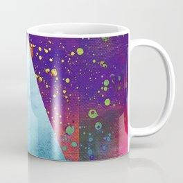 Triangle Composition V Coffee Mug