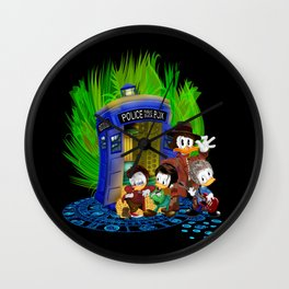 The Doctor Duck 4th 10th 11th and 12th who Tales iPhone 4 4s 5 5s 5c, ipod, ipad, pillow case tshirt Wall Clock