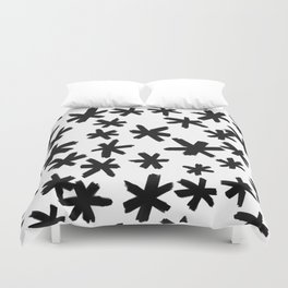 Secret Buttholes - WHITE Duvet Cover