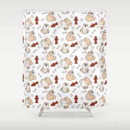 Gordon the Chow Chow Shower Curtain