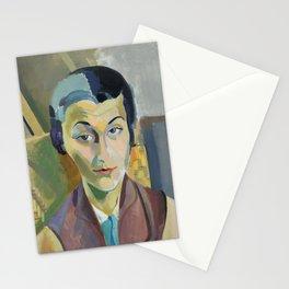 "Robert Delaunay ""Portrait of Maria Lani"" Stationery Cards"