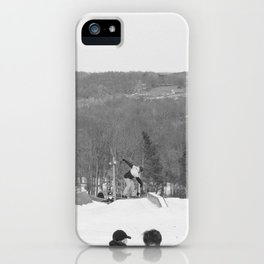 mountain manager iPhone Case
