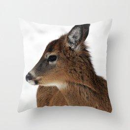 Chevreuil 003 Throw Pillow