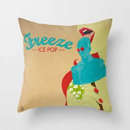Freeze Ice Pop Throw Pillow