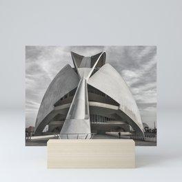 City of Arts and Sciences I | C A L A T R A V A | architect | Mini Art Print