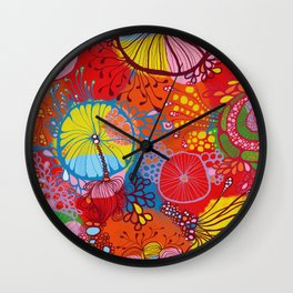 Under the sea, what do you see? Wall Clock