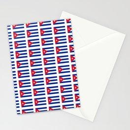 Flag of Cuba 4 -cuban,havana,guevara,che,castro,tropical,central america,spanish,latine Stationery Cards