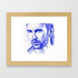 Cap'n Framed Art Print