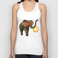 bed Tank Tops featuring Elephant's Dream by Waelad Akadan