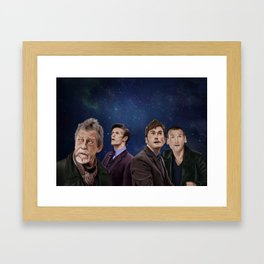 The Day of the Doctor Framed Art Print