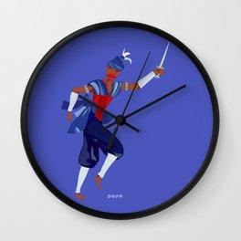 ORIXAS_ ogum Wall Clock