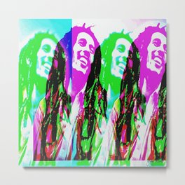 Los colores de Marley 2 Metal Print