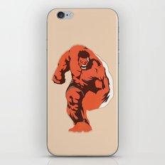 Thunderbolt Ross iPhone & iPod Skin