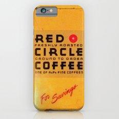 Red Circle Coffee iPhone 6s Slim Case