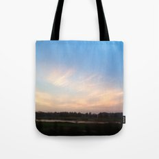 Sunset Drive By Tote Bag
