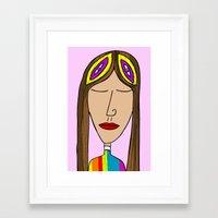 nasa Framed Art Prints featuring Nasa by Joe Pansa