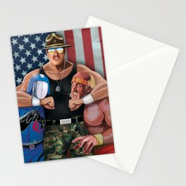 Sarge Rules Stationery Cards