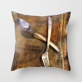 Broken Dreams Throw Pillow