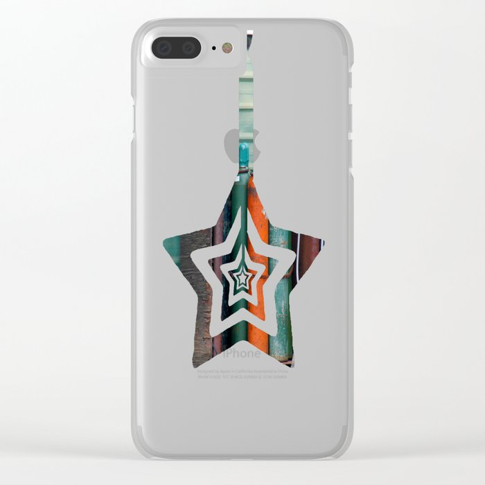 Colors - Tanks Clear iPhone Case