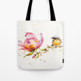 Magnolia & Buddy Tote Bag