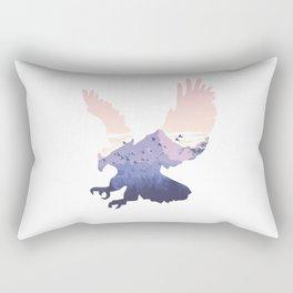 eagle silhoutte Rectangular Pillow