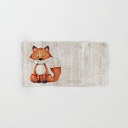 Little Fox, Baby Fox, Baby Animals, Forest Critters, Woodland Animals, Nursery Art Hand & Bath Towel