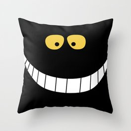 Smile from Wonderland Throw Pillow