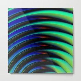 No Negative Waves Metal Print