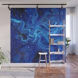 Galaxy Space Painting Stars Cosmic Universe Nebula Art Wall Mural