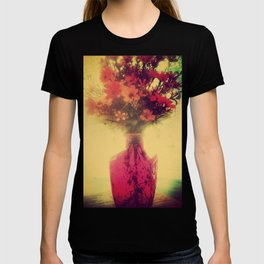Vintage Flowers of August T-shirt
