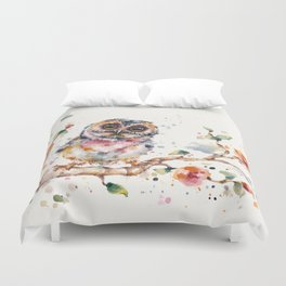 Yep, Cute Is My Middle Name (Owl) Duvet Cover