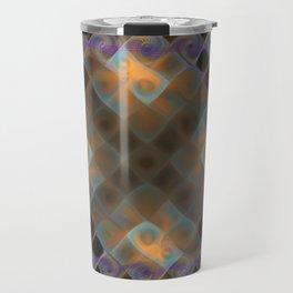 Plasmatic fractal Travel Mug