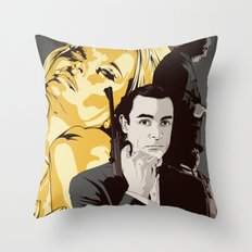 J. B. Throw Pillow