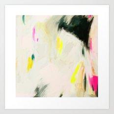 Abstract Love 2 Art Print