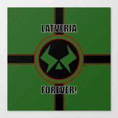 Latveria Forever! Canvas Print