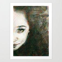 Deliq Art Print