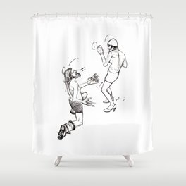 Soulmate Shuffle. Shower Curtain