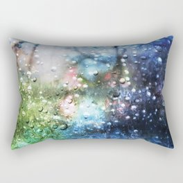 Rain Thoughts Rectangular Pillow